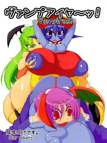darkstalkers-doujinshi