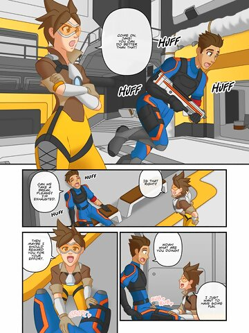 Overwatch Tracer Porn Comic