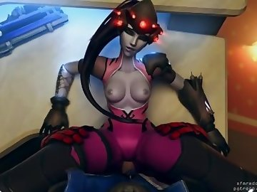 Overwatch Porn, overwatch, widowmaker, animation, sfm, soldier, 76, missionary, animated, porn, cock, video, game, pov, cartoon, french
