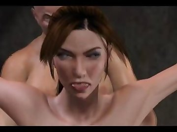 Lara Croft Porn, ass, fuck, butt, anime, creampie, anal, cartoon