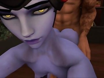 Overwatch Porn, anime, widow, maker, widowmaker, overwatch, hentai, anal, vaginal, cum, ass, boobs, tits, cock, tracer, cartoon, overwatch