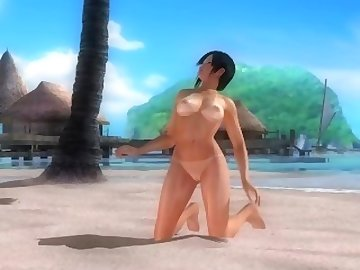 Dead or Alive Hentai, anime, kokoro, doa, cartoon, 60fps