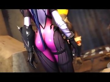 Overwatch Porn, anime, futa, overwatch, blowjob, tracer, widowmaker, cock, dick, shemale, cartoon