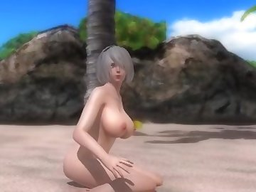 Dead or Alive Hentai, anime, 2b, hentai, nier, automata, cartoon, dead or alive