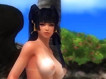 Dead or Alive Hentai, anime, doa, nyotengu, cartoon, 60fps