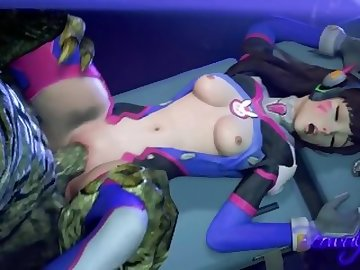 Overwatch Porn, anime, overwatch, dva, sfm, sound, cartoon, korean, overwatch