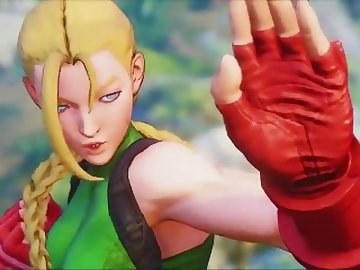 Street Fighter Hentai, anime, games, street, fighter, cammy, 3d, videogame, barefoot, fetish, cartoon, street fighter