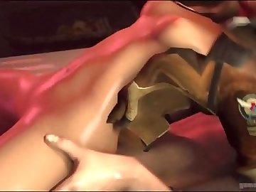 Overwatch Porn, ass, fuck, butt, tracer, overwatch, blowjob, anal, cartoon, overwatch
