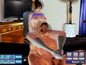 Overwatch Porn, butt, 3d, hentai, overwatch, mei, honey, select, thicc, ass, mature, cartoon, overwatch