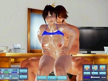 Overwatch Porn, butt, 3d, hentai, overwatch, mei, honey, select, thicc, ass, mature, cartoon