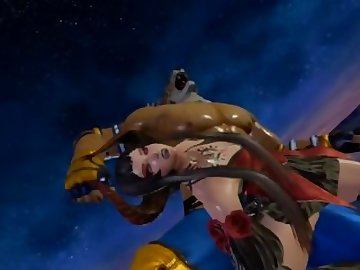 Tekken Hentai, kink, anime, point, view, nylon, stockings, heels, fetish, pov, cartoon, 60fps