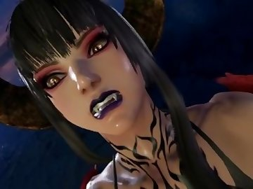 Tekken Hentai, kink, anime, point, view, nylon, stockings, heels, fetish, pov, cartoon, 60fps