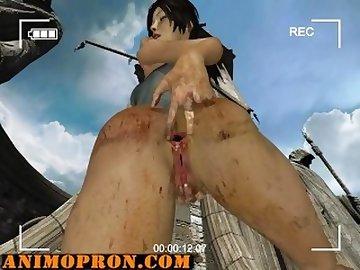 Lara Croft Porn, lara, croft, anal, ass, cartoon