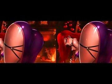 League of Legends Hentai, butt, league, legends, cartoon, hips, shaking, missfortune, miss, fortune, ass, uniforms