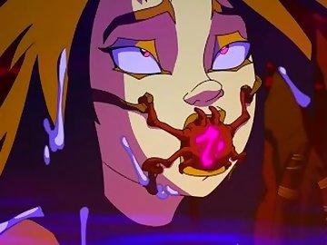Zone-Tan Hentai, ass, fuck, anime, creampie, zone, tan, edited, anal, cartoon
