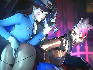 Overwatch Porn, ass, fuck, bdsm, butt, boobs, latin, anime, overwatch, sombra, sfm, hentai, dva, futa, cruiser, officer, lesbian, cartoon