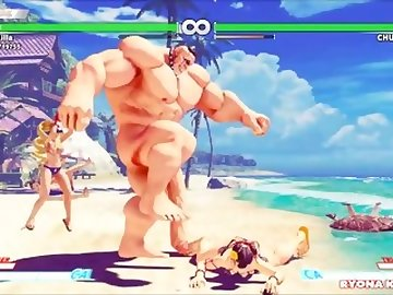 Street Fighter Hentai, scenes, kink, cock, petite, anime, point, view, menat, nude, mod, street, fighter, chun, dick, fetish, pov, small, tits, cartoon, 60fps
