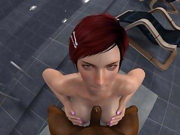 Dead or Alive Hentai, cartoon, point, view, anime, redhead, video, game, 3d, porn, titfuck, sweaty, sfm, pov, source, filmmaker, skyrim, red, head, dead or alive