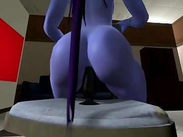 Overwatch Porn, 3d, sfm, cartoon, french, ass, fuck, overwatch, widowmaker, dildo, anal, solo, game, overwatch