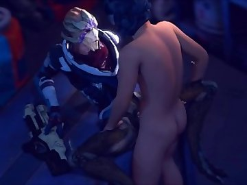 Mass Effect Hentai, anime, vetra, nyx, mass, effect, riding, sfm, music, cartoon