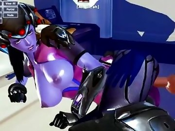 Overwatch Porn, honey, select, widowmaker, widow, maker, overwatch, over, anime, blowjob, cartoon, overwatch