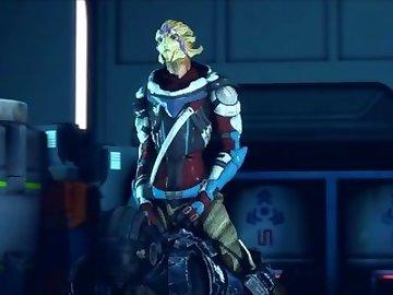 Mass Effect Hentai, anime, vetra, nyx, mass, effect, riding, sfm, music, cartoon