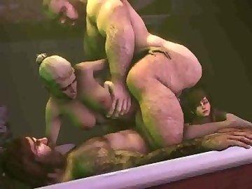 Mortal Kombat Hentai, cassie, cage, mortal, kombat, gif, compilation, cartoon