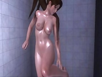 Dead or Alive Hentai, ass, fuck, nude, shower, asian, babe, cartoon, dead or alive