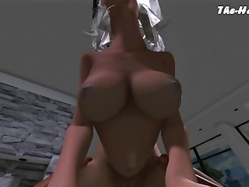 Final Fantasy Hentai, anime, fran, final, fantasy, tk17, pov, point, view, cartoon