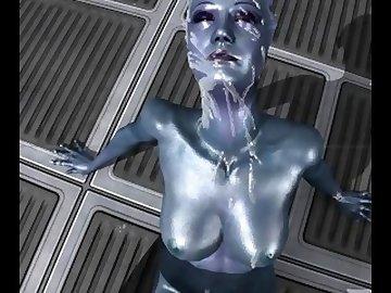 Mass Effect Hentai, point, view, alien, 3d, video, game, mass, effect, asari, facial, hentai, sfm, skyrim, source, filmmaker, cumshot, pov, cartoon