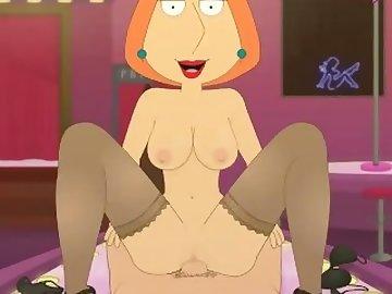 Family Guy Porn, ass, fuck, cum, cumshot, lois, griffin, family, guy, bukkake, creampie, anal, cartoon