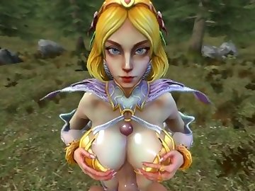 SMITE Hentai, butt, cock, boobs, kink, aphrodite, titfuck, smite, sfm, source, filmmaker, pov, ass, fetish, cartoon