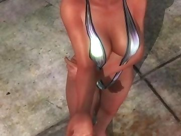 Dead or Alive Hentai, teasing, masturbate, kink, lisa, doa, dead, alive, hentai, girls, mariposa, bikini, video, gamer, girl, game, babe, fetish, masturbation, striptease, cartoon