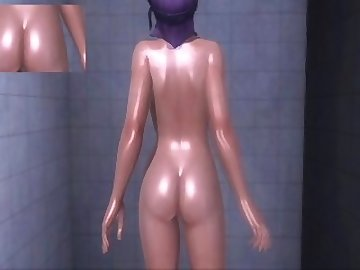 Dead or Alive Hentai, celeb, dead, alive, ayane, doax3, shower, celebrity, college, asian, cartoon