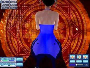 Street Fighter Hentai, anime, chun, sfv, street, fighter, xclumsyy, sfm, 3d, honey, select, thicc, cartoon