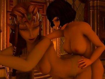 Bioshock Infinite Hentai, girl, 3d, dickgirls, sex, sfm, futa, sound, zelda, elizabeth, bioshock, doggystyle, lesbian, shemale, cartoon, bioshock