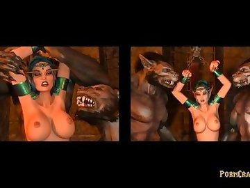 World of Warcraft Porn, anime, warcraft, world, porncraft, 3d, monsters, comics, compilation, cartoon, parody