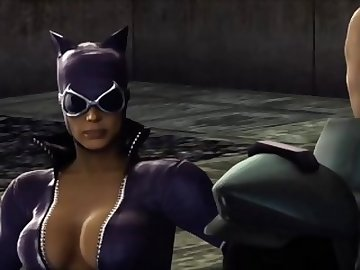 Justice League Porn, catwoman, 3d, hentai, cartoon, video, game, anime, sexy, latex, catsuit, ps3, mortal, kombat, safe, work, compilation, montage, tits, babe