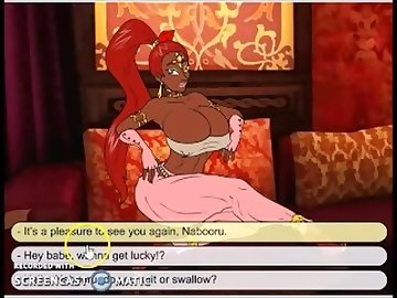Legend of Zelda Hentai, black, ebony, handjob, cartoon, music
