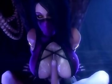 Mortal Kombat Hentai, ass, tits, bubble, butt, tit, fuck, titties, mortal, kombat, pov, cartoon