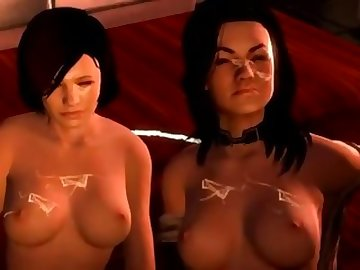 Mass Effect Hentai, boobs, cock, mass, effect, futa, oriana, lawson, cumshots, tits, sisters, clone, video, game, cartoon, dick, babes, sexy, shemale, 60fps