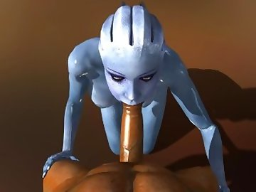 Mass Effect Hentai, anime, point, view, video, game, blowjob, mass, effect, liara, tsoni, sfm, source, filmmaker, 3d, porn, deepthroat, crazy, alien, pov, cartoon