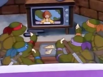 Teenage Mutant Ninja Turtles Porn, drawn, hentai, cartoon, anime