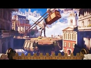 Bioshock Infinite Hentai, cartoon, dp, 3d, gangbang, face, creampie, double, penetration, bioshock