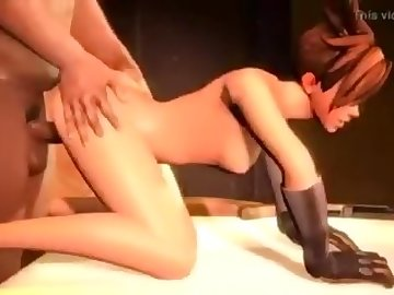 Overwatch Porn, ass, fuck, cock, black, dick, bbc, overwatch, tracer, mercy, mei, anal, cartoon, animated, porn, interracial