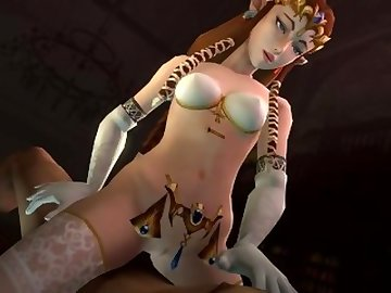 Legend of Zelda Hentai, anime, 3d, 3dcg, cartoon