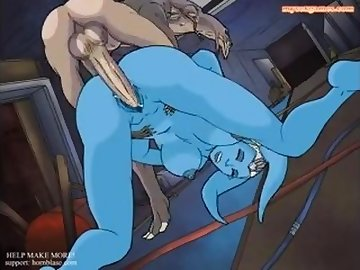 Star Wars Porn, anime, twilek, starwars, sex, porn, sebulba, alien, fuck, interracial, cartoon