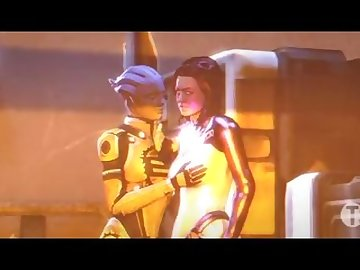 Mass Effect Hentai, mass, effect, futa, shemale, cartoon