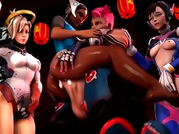 Overwatch Porn, anime, futa, video, game, cartoon, creampie, overwatch, shemale, overwatch