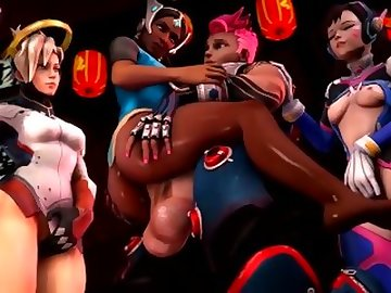 Overwatch Porn, anime, futa, video, game, cartoon, creampie, overwatch, shemale
